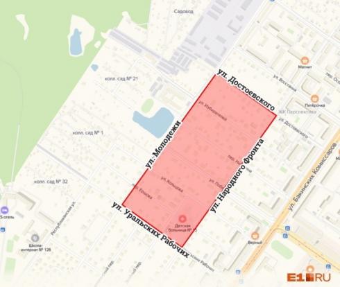 В Екатеринбурге планируется снос частных домов ради нового района