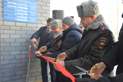 В Академическом состоялось открытие нового участкового пункта полиции