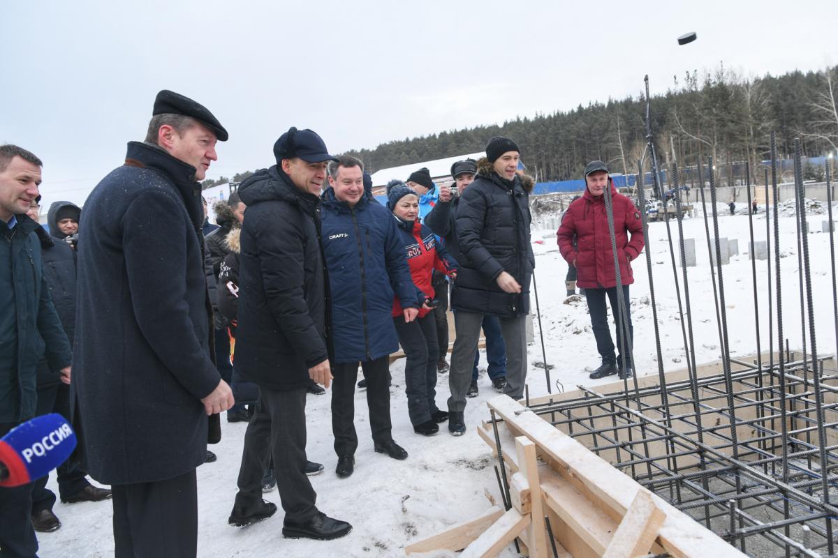 В Сысерти появится новый ледовый дворец