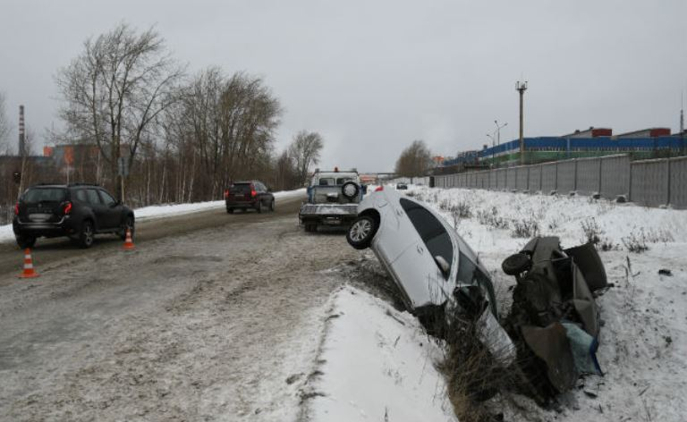 В ДТП на дороге соединяющей Ревду с СУМЗ погиб мужчина