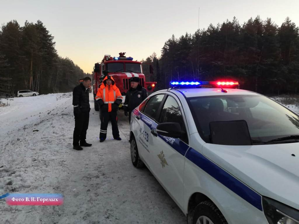В Свердловской области перевернулся автобус с фанатами Макса Коржа