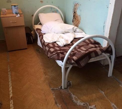 Свердловскую больницу отремонтировали только по требованию прокуратуры