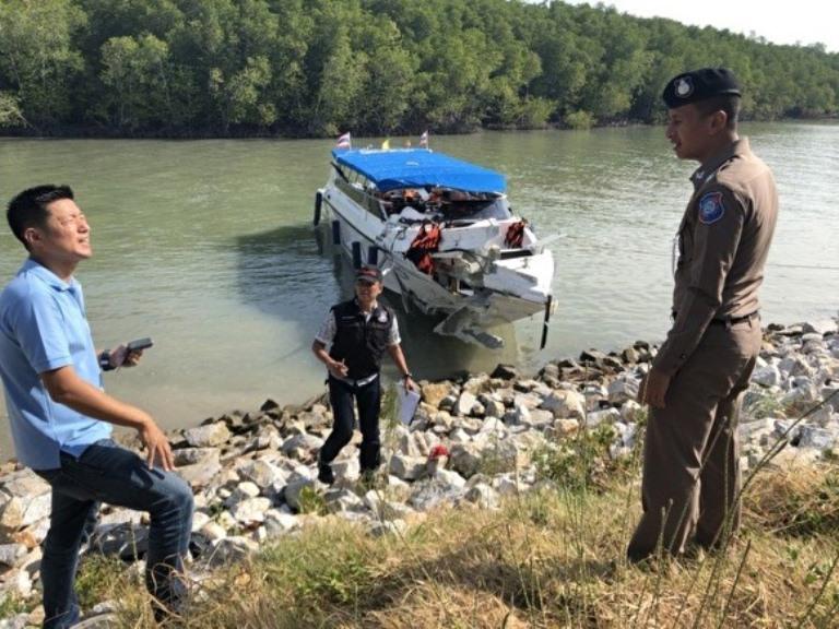 Два российских туриста погибли, ещё 22 пострадали при столкновении катеров в Таиланде