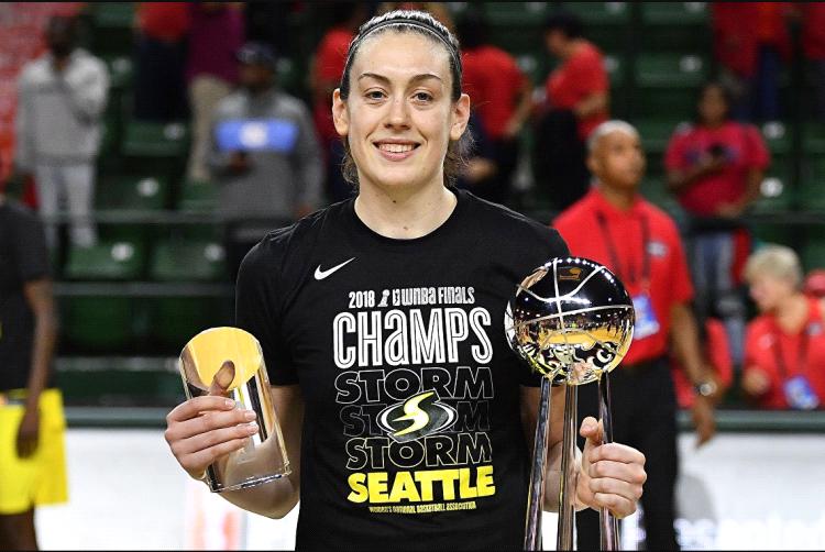 Состав баскетбольного клуба УГМК пополнился олимпийской чемпионкой Бреанной Стюарт