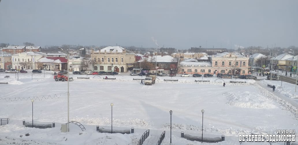 Камышлов второй год подряд заслужил звание «город-сугроб»