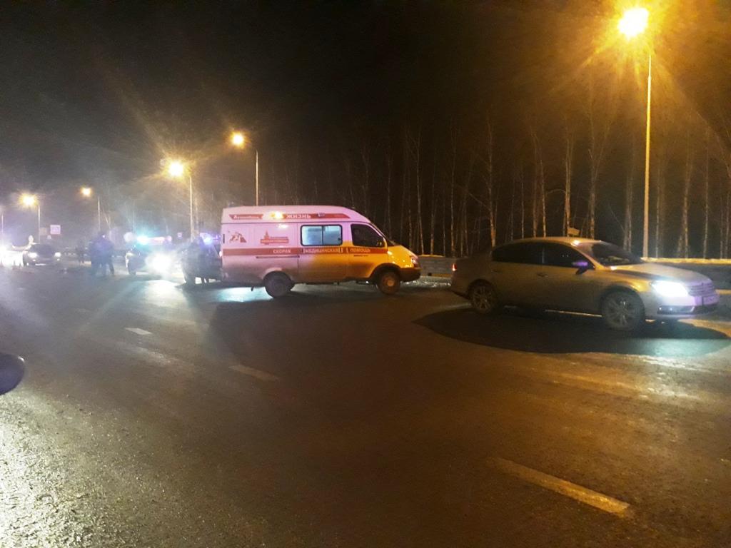 На Полевском тракте «Тойота Камри» насмерть сбила мужчину на пешеходном переходе