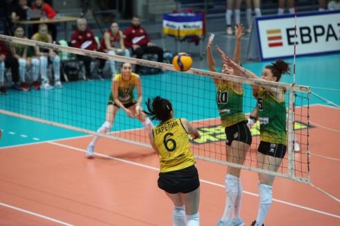 «Уралочка-НТМК» обыграла «Ленинградок» и вышла в плей-офф волейбольной российской суперлиги