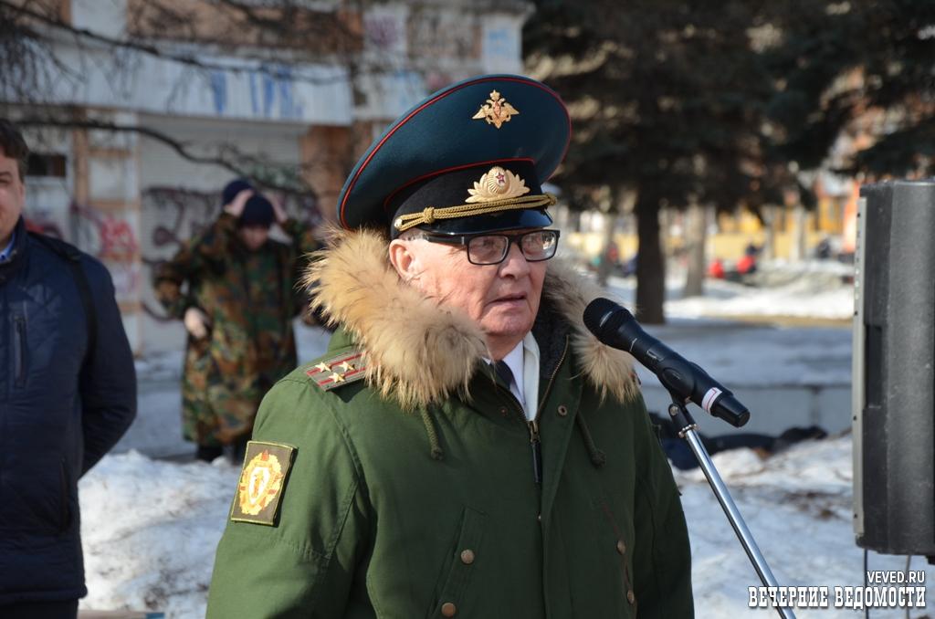 В Екатеринбурге отпраздновали 77-ю годовщину формирования Уральского добровольческого танкового корпуса