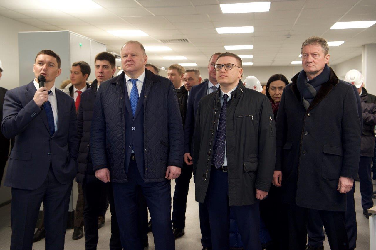 Полпред Президента Николай Цуканов посетил Челябинский цинковый завод