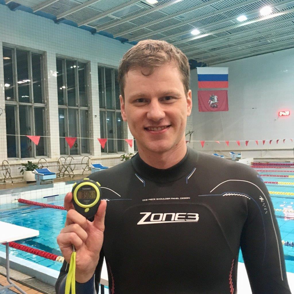 Сотрудник «Уралэлектромеди» стал чемпионом России по фридайвингу