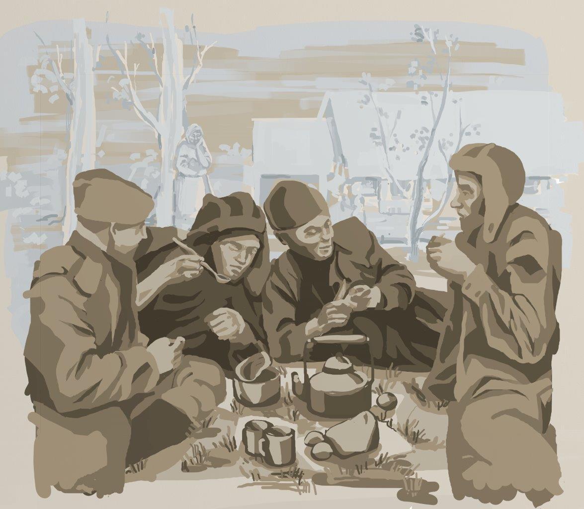 Дети уральских металлургов создали иллюстрации Победы