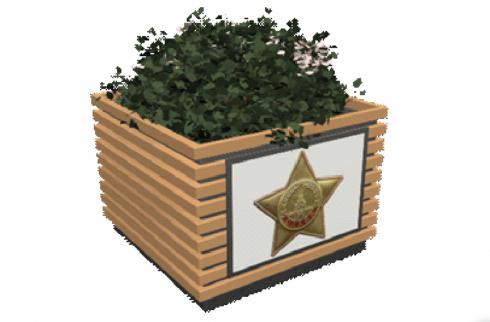Ко Дню Победы Екатеринбург украсят цветочными вазонами за 450 тысяч рублей