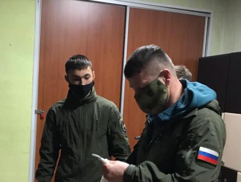 Свердловская федерация рукопашного боя обеспечила масками «Центр социальной помощи»