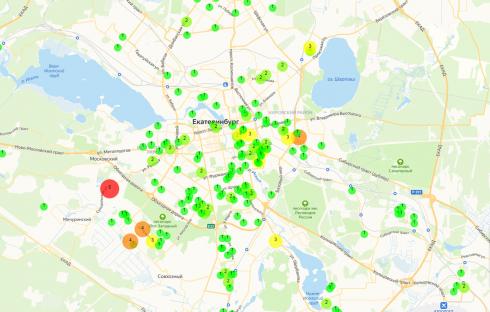 Роспотребнадзор рассказал, в каких районах Екатеринбурга проживают заболевшие коронавирусом