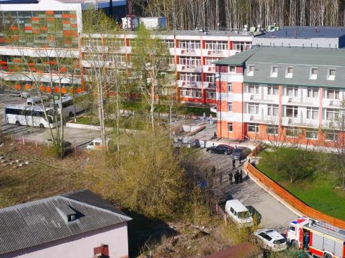 Отель в Екатеринбурге стал обсерватором для прибывших туристов