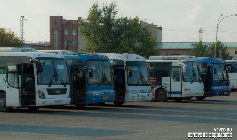 Северный автовокзал отправление автобусов фото