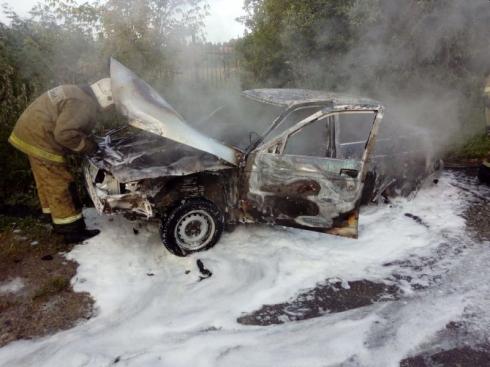 На Среднем Урале за ночь сгорели три автомобиля