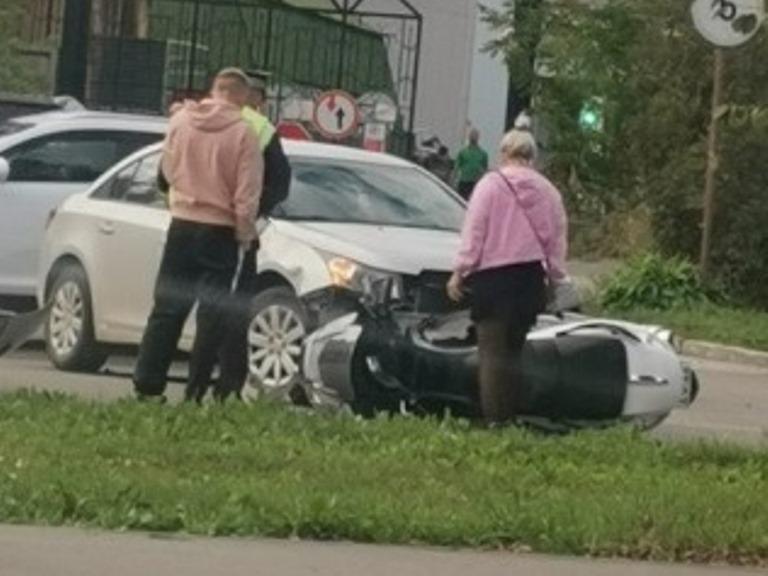 В Екатеринбурге сбили мотоциклиста