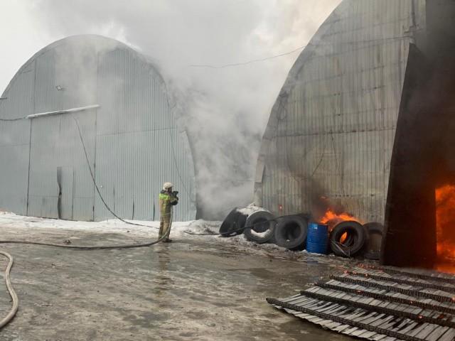 бетон пожар
